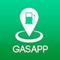 GasApp - Gasolina barata en México icon