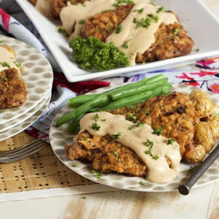 Chicken Fried Steak with Country Gravy.