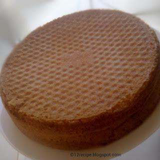 Basic Sponge Cake.