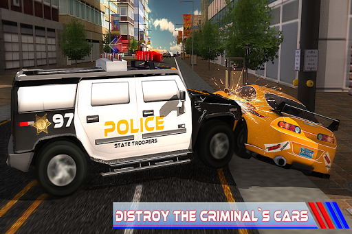Criminal Police Car Chase 3Dud83dudc6e  screenshots 4