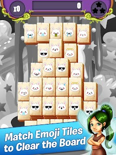 Emoji Mahjong - Rainbow Unicorn Adventure Quest - náhled