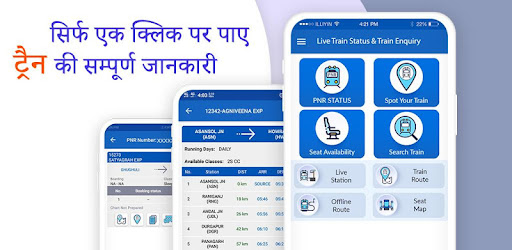 Live Train Status And Train Enquiry Apps On Google Play