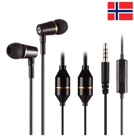 AirTube – Stereo ørepropper, reduser EMF med 99,9%