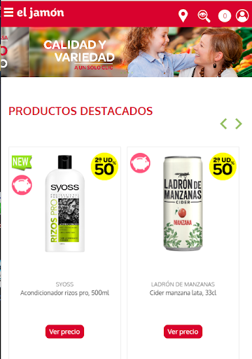 Supermercado El Jamón screenshot 2