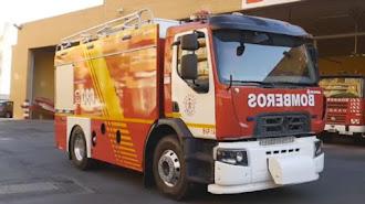 Camión de Bomberos de Almería en una fotografía de archivo.
