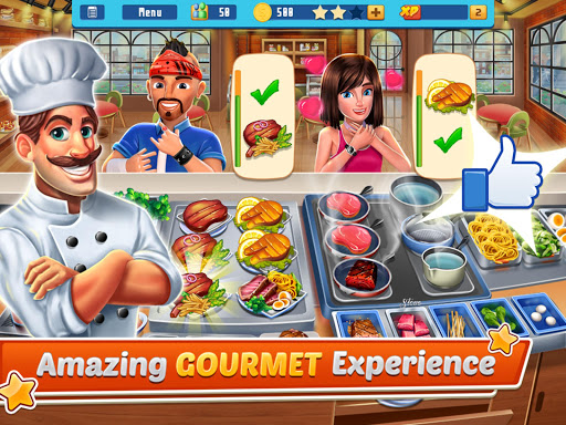 Chef's Life : Crazy Restaurant Kitchen screenshots 9