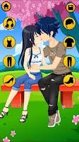 Screenshot of Kissing Dressup For Girls