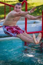 Photo: Unkarin pojalla lähti vissiin kutka peräpäästä. Läsähti siihen malliin.