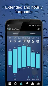 1Weather:Widget Forecast Radar v4.0.0 build 387 beta Pro