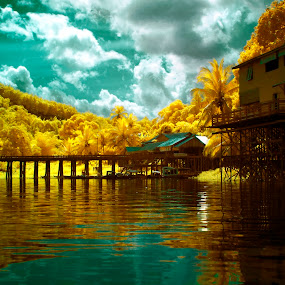Dream House by Agung Cahyono - Landscapes Waterscapes