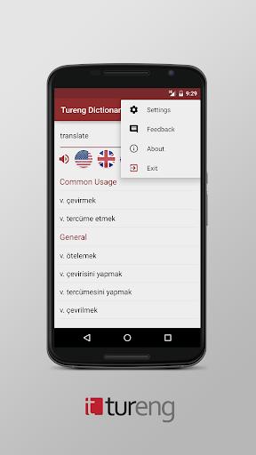 Tureng Dictionary screenshot 5