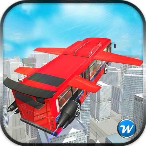 Flying Coach Bus Pilot 3D 2016 模擬 LOGO-玩APPs