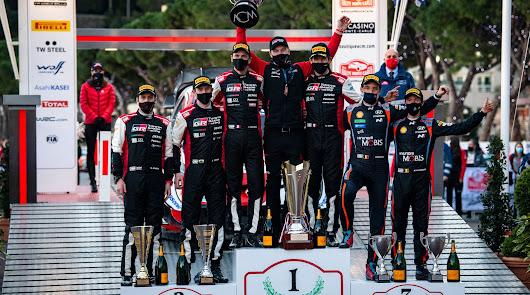 Ogier logra su 50ª victoria en el mundial y octava en el Rally de Montecarlo