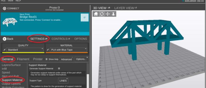 MatterControl 3D Printing Software