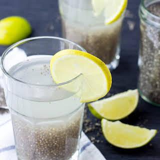 Chia Seeds Natural Energy Drink - Chia Fresca / Iskiate (5 mins).