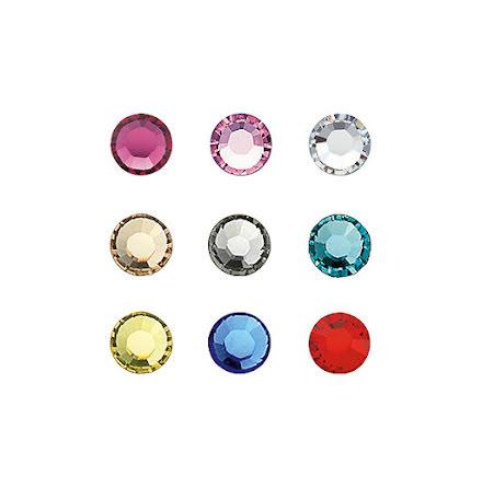 20 strasstenar Multicoloured SS5