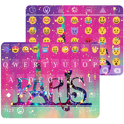 Galaxy Paris KK Emoji Keyboard