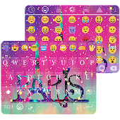 Galaxy Paris KK Emoji Keyboard