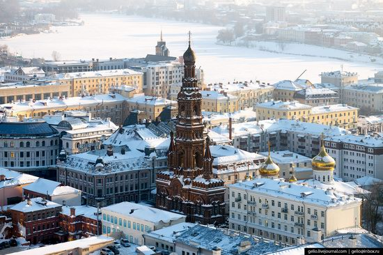 Winter in Kazan, Russia - the view from above, photo 8