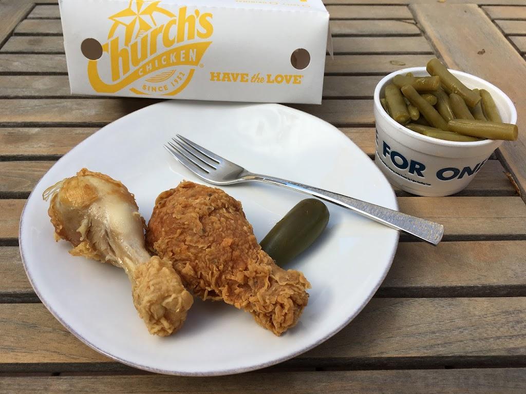 Low Carb Church's Chicken Menu