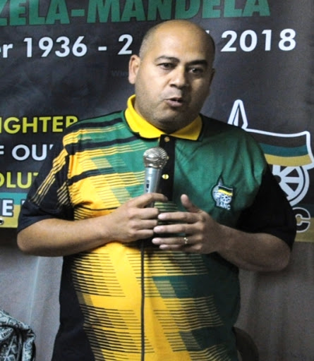 Faiez Jacobs, the ANC's Western Cape secretary
