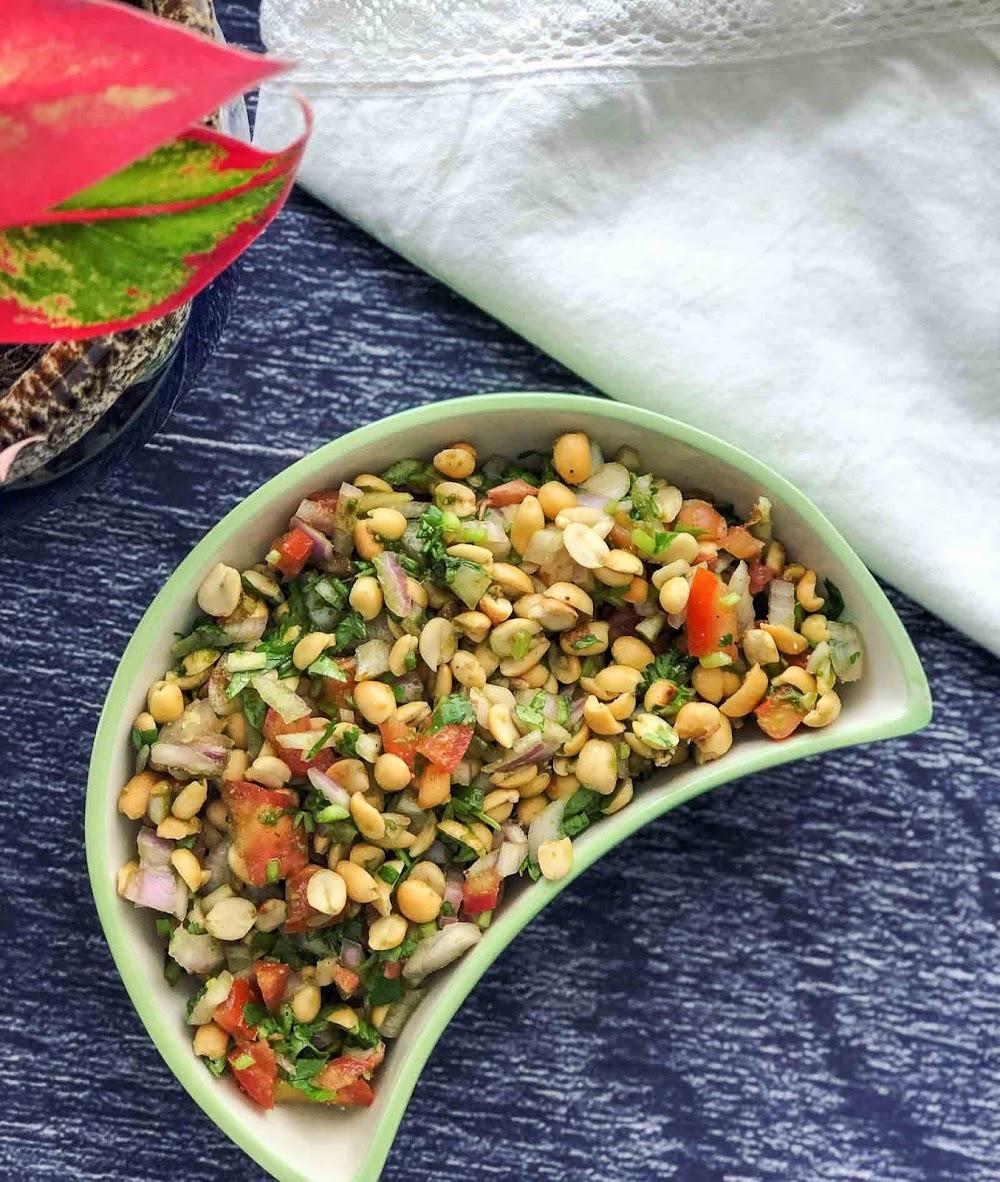 best-snacks-with-beer_peanut_salad