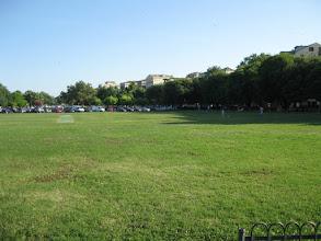 Photo: Cricket ground in Corfu