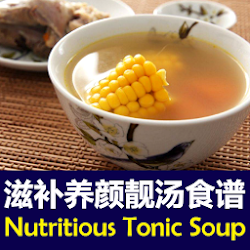 Nutritious Chinese Tonic Soup Recipes 滋补养颜靓汤食谱合集