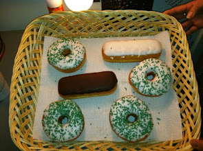 Photo: Lovely donuts greeting me Windy City LIVE!!!