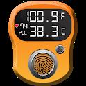 Body Temperature Logger: Scan Tracker Checker Test icon