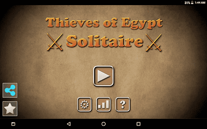 Thieves of Egypt Solitaire APK screenshot thumbnail 4