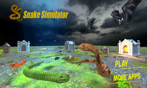 아나콘다 뱀 시뮬레이터