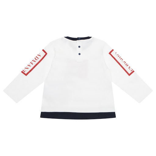 Thumbnail images of Emporio Armani Baby Long Sleeve Top