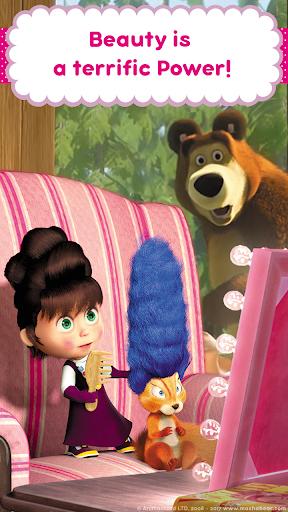 Masha and the Bear: Hair Salon and MakeUp Games 1.0.7 screenshots 7