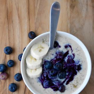Quinoa Porridge with Blueberry Compote