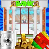 Bank Manager Cashier : ATM & Money management game