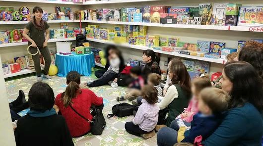 Febrero de cuentacuentos en Librería Bibabuk