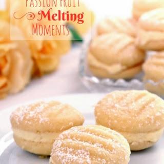 Passion Fruit (Lilikoi) Melting Moments