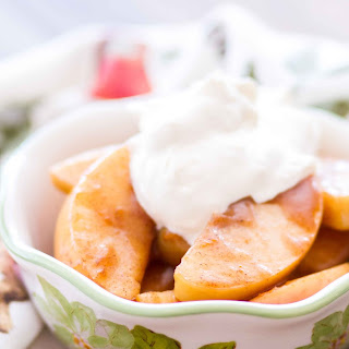 Slow Cooker Spiced Apples.