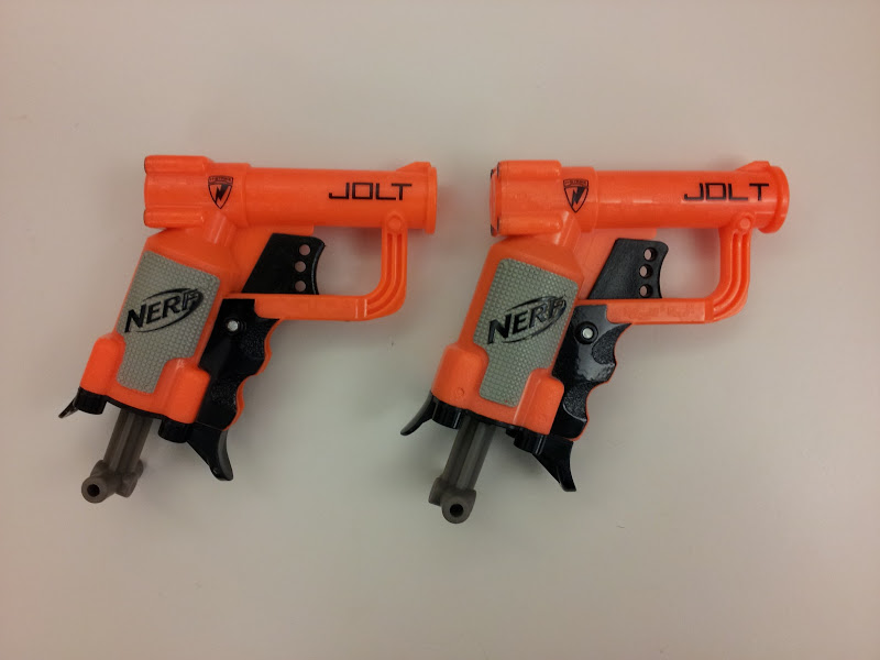 Photo: Nerf apparently fixed the kerning on the Jolt.