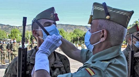 La Legión recibe a sus nuevos miembros en un acto en la base de Viator