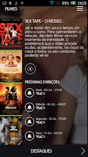 TVCine - screenshot thumbnail