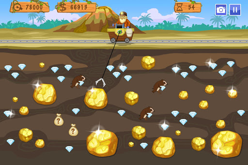 Gold Miner World Tour: Gold Rush Puzzle RPG Game screenshots 2