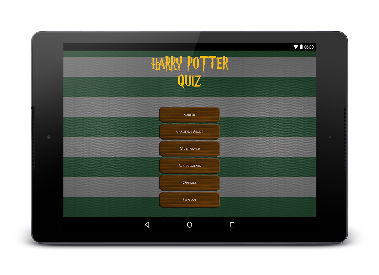 Screenshots of Fanquiz for Harry Potter for iPhone