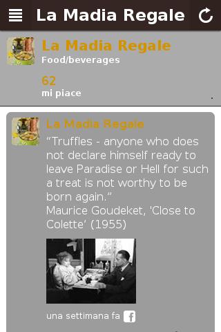 La Madia app