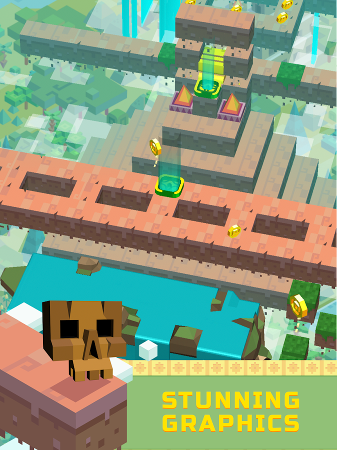 Aztec Dash - The Endless Maze- screenshot