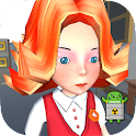 Girl Fight 3D Fighting Games icon