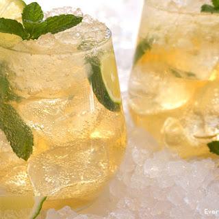 Honey Mint Whiskey Mojito.