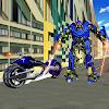 Police Robot Transformer Hero