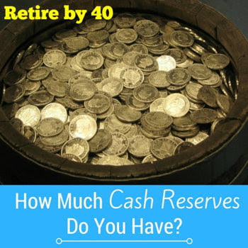 How much cash reserves do you have?